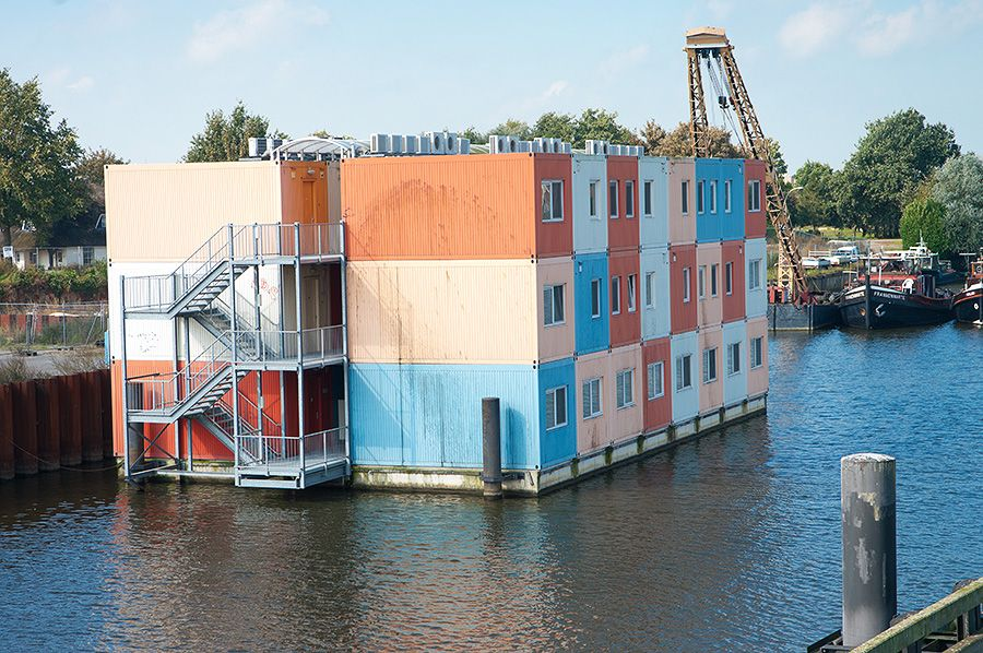 Container Apartments 100 of the most impressive shipping container homes   apartments