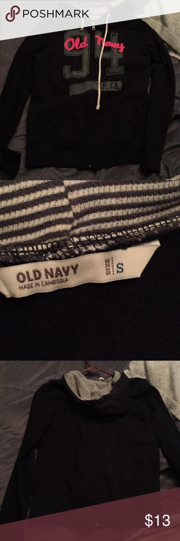 black sweat shirt black small old navy sweatshirt pink