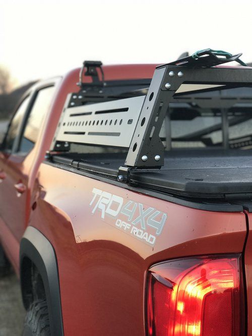 Click This Image To Show The Full Size Version In 2020 Tonneau Cover Toyota Tacoma Roof Rack Tacoma Bed Rack