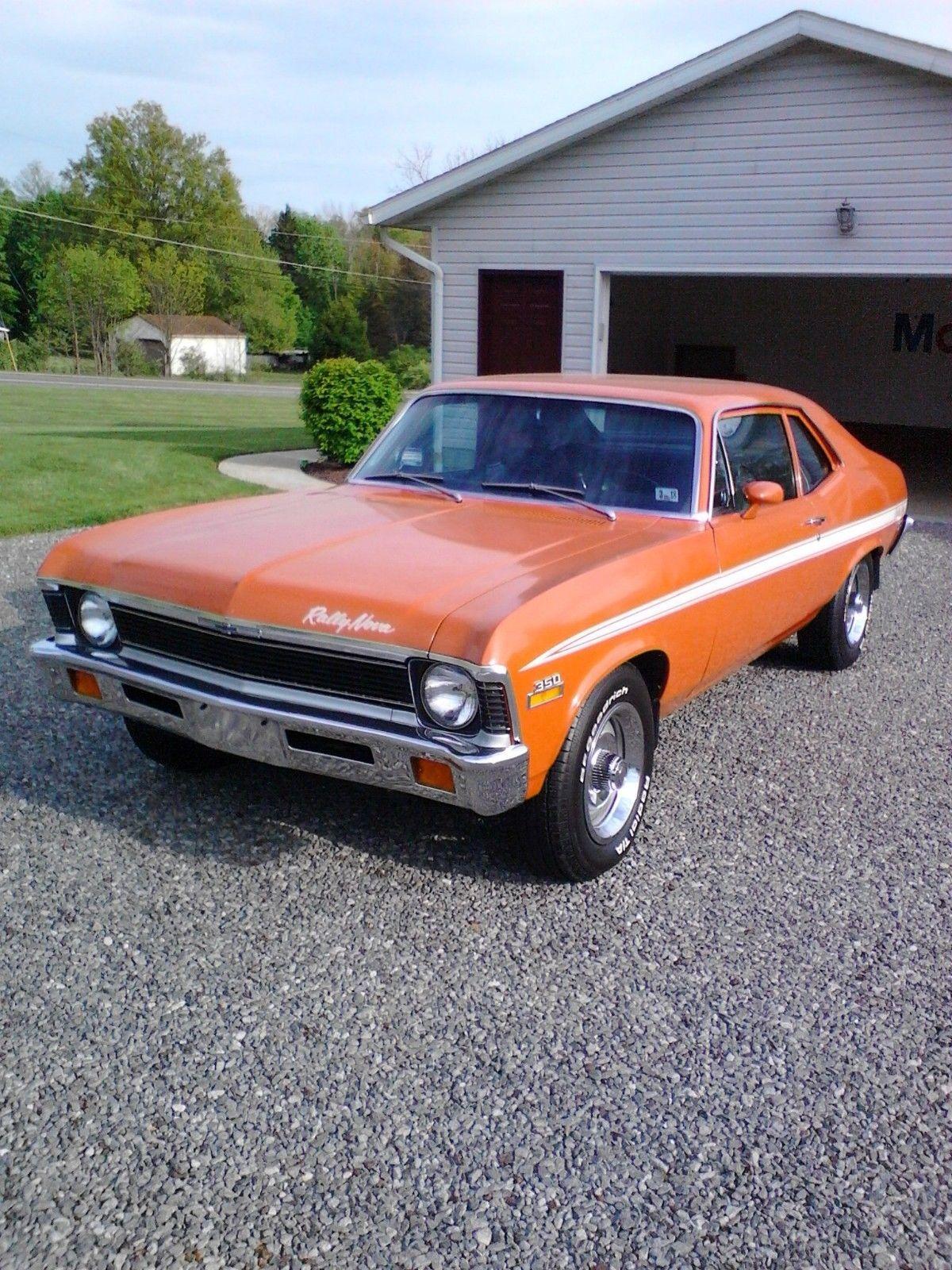 1972 chevrolet nova rally ebay