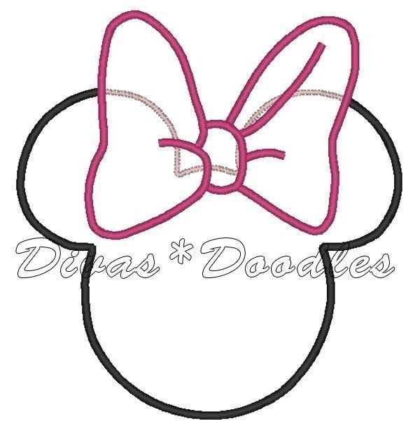 Mickey Mouse Face Outline | idea | Pinterest | Outlines, Mickey ...