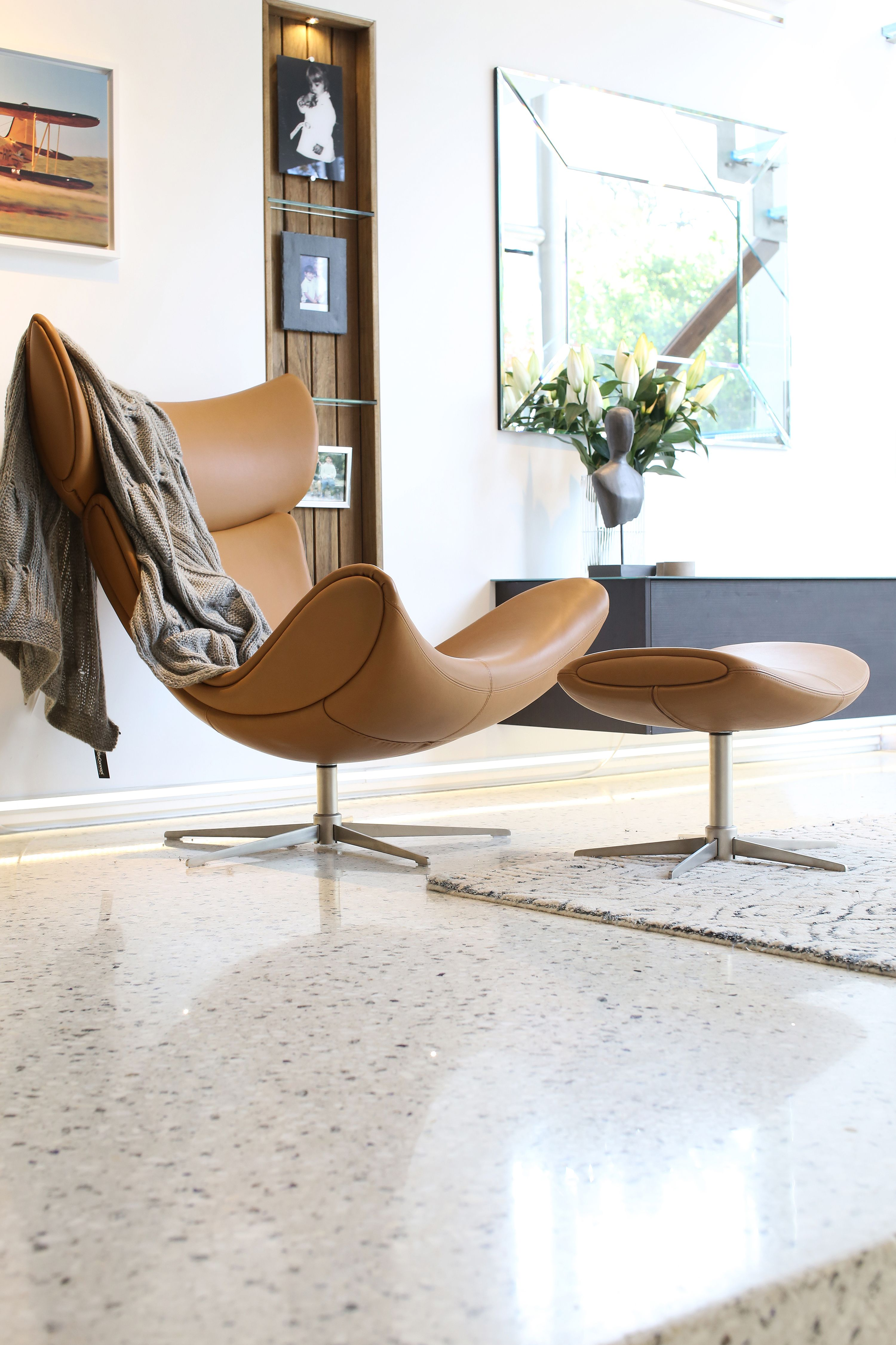 Design Chairs For Living Room Imola Living Room Chair In Beautiful Leather  Boconcept's