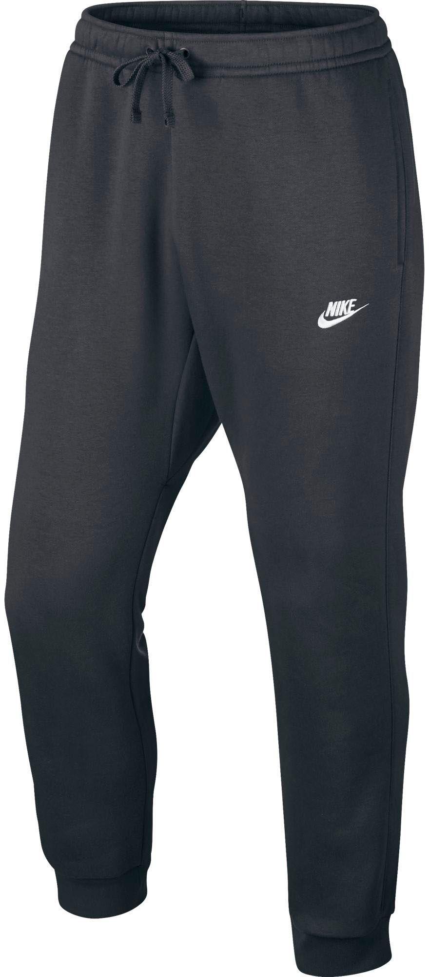 07b17d8bf Nike Men's Sportswear Club Fleece Jogger Pants, Size: XXXL, Charcoal  Heather/White