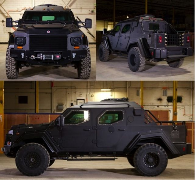 Gurkha Armored Tactical Vehicles Now Available For Civilian