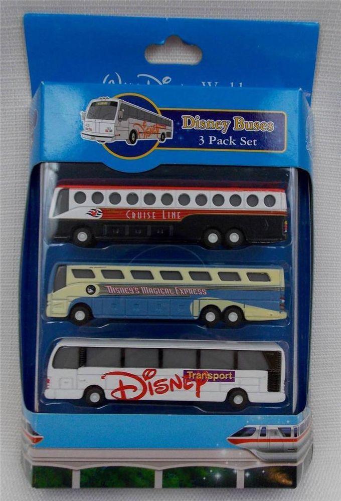 Disney Parks Transportation Buses Pack Set Of Cruise Line - Toy disney cruise ship