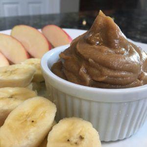 Apple Cinnamon Dessert Hummus #desserthummus