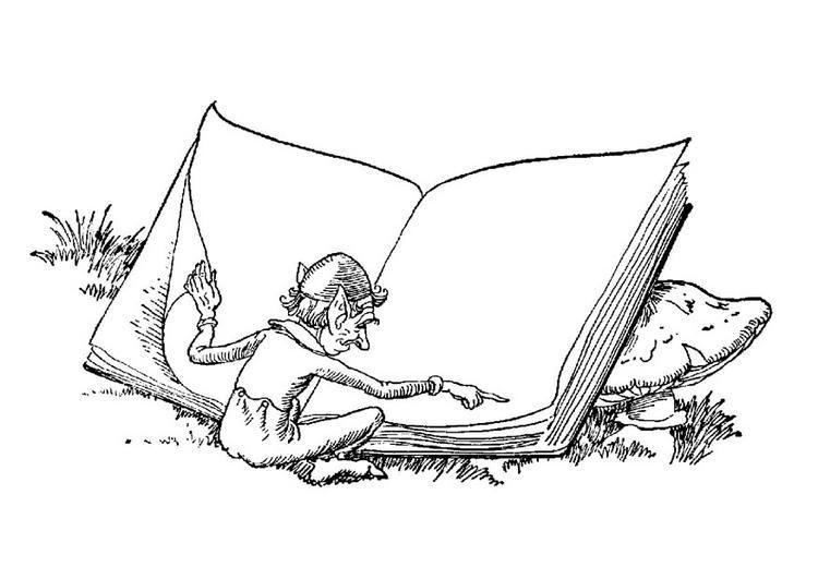 Dibujos para colorear del 23 de abril día del libro para niños ...