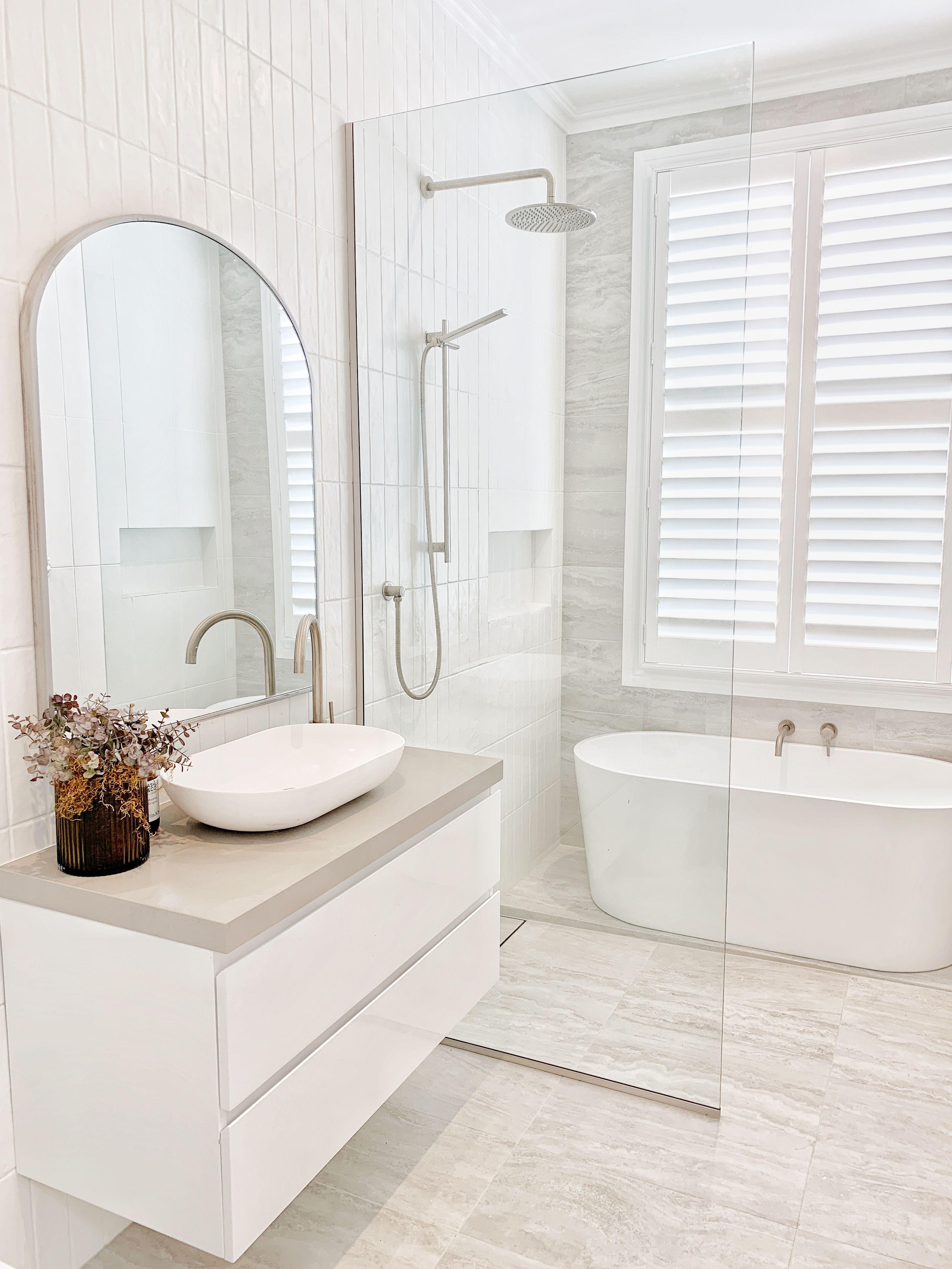 auckland reno brushed nickel bathroom in 2020 bathroom on bathroom renovation ideas nz id=57410