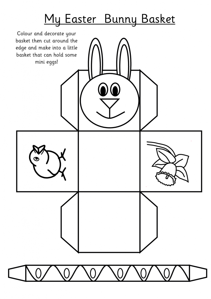 Printable Easter Activities Best Coloring Pages For Kids Easter Basket Template Simple Easter Baskets Easter Basket Printable