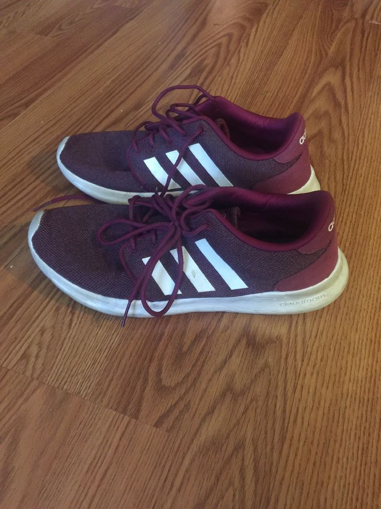 f79810e9a3f7 ADIDAS - maroon - Size 8 - Preowned  fashion  clothing  shoes  accessories