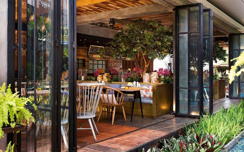 restaurant design paradisiaque au c ur de l indon sie lemongrass pinterest. Black Bedroom Furniture Sets. Home Design Ideas