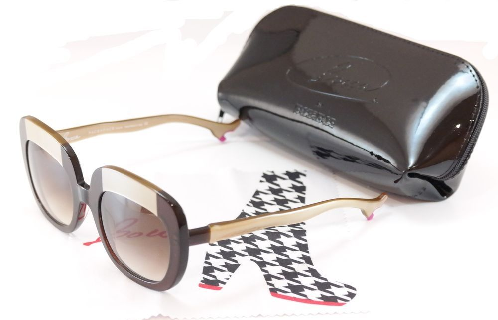 f28870dd64 Face A Face Bocca Sunglasses Lova 1 222 Brown Cream Plastic Italy Hand Made   FaceAFace  Round
