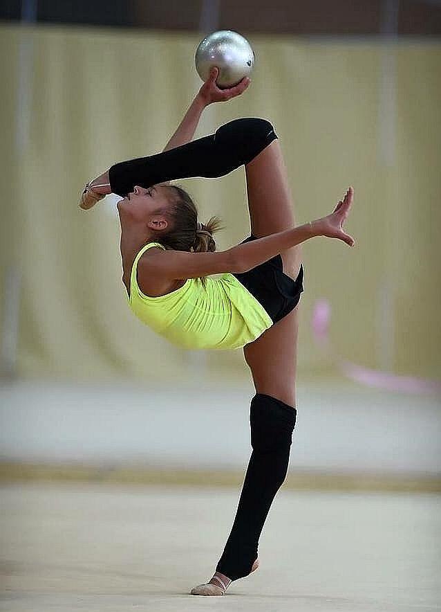 Amateur ballet dancing gymnastics