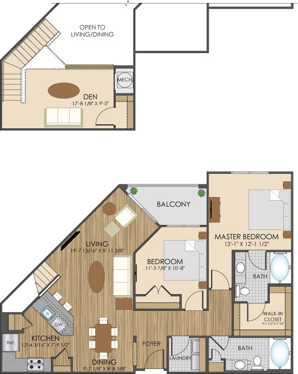 floor plans of hidden creek apartments in gaithersburg md 20877 rh pinterest es