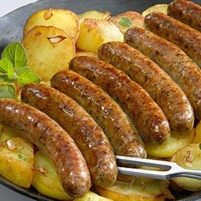 Deutsche Küche Nürnberg   Howe Nuremberg Bratwurst 8 Links 200g Deutsches Essen Deutsche