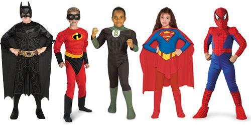 female superhero costumes for kids