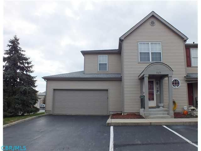 Newlylisted 3 Bedroom Condo In Hilliard Schools Large End Unit Liv Rm W Fireplace Gas Logs Wonderfully Finished Ba Deck Flooring Condo 6 Panel Doors