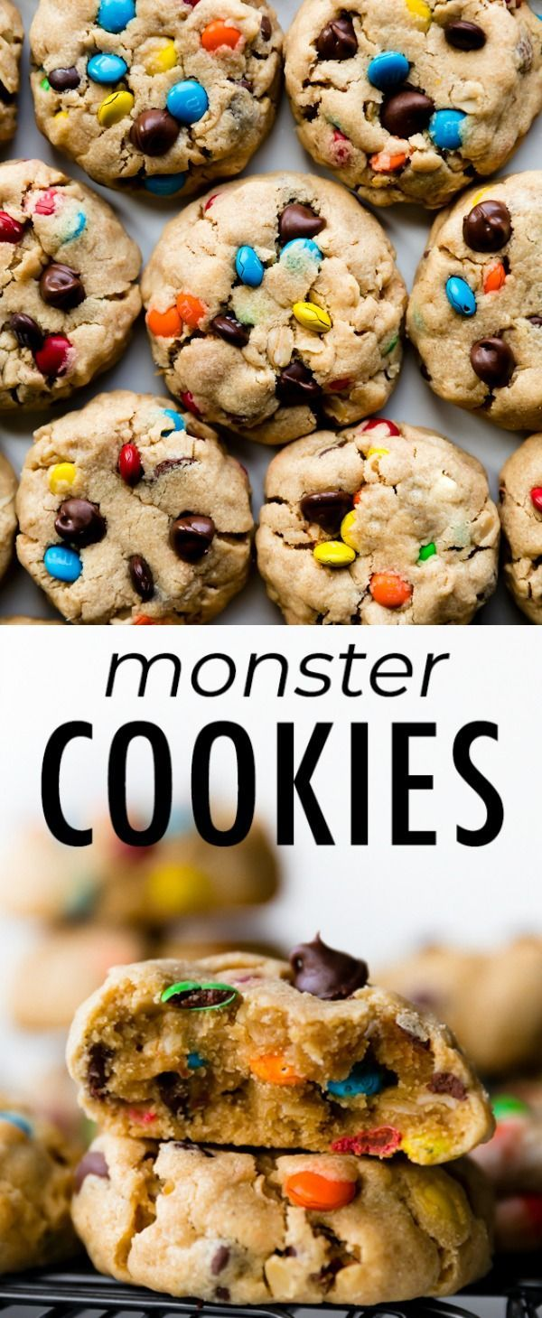 Easy Cake  My simple monster cookie recipe delivers extra soft and thick biscuits and you