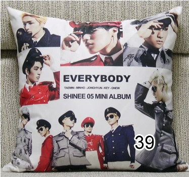 Kpop SHINee fashion EVERYBODY pillow