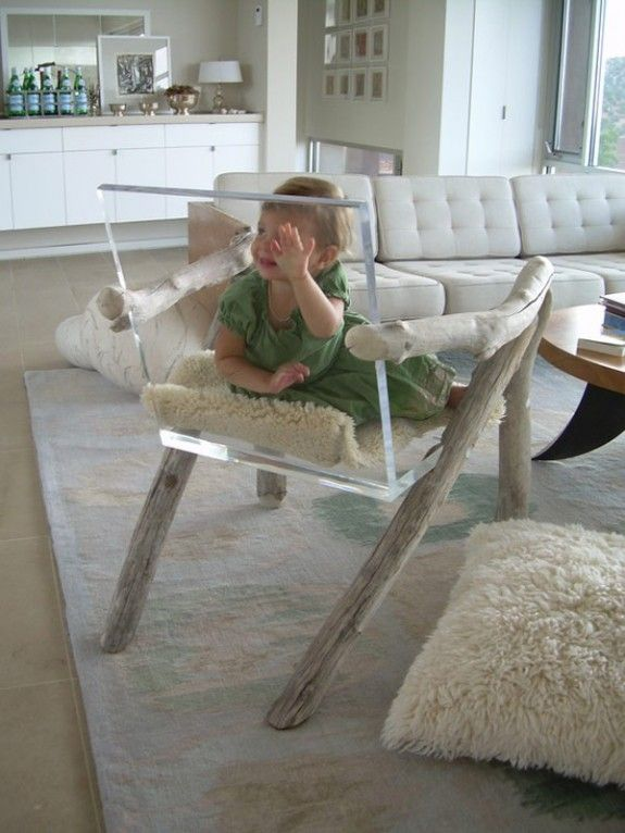 Wood And Glass Furniture Imprisons Child. Ghost ChairsWood ...
