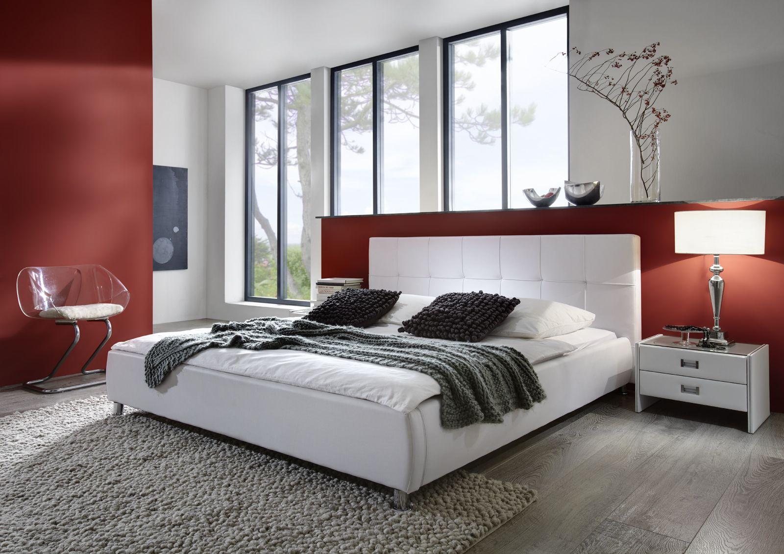 Wunderbar Polsterbett 180x200 Das Beste Von Sam® 180 X 200 Cm Weiß Zarah