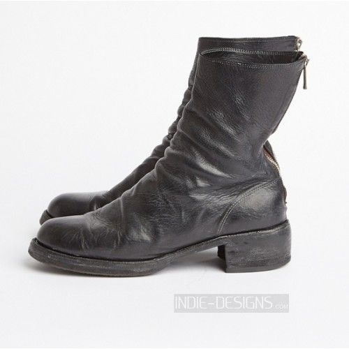 Authentic Guidi 988z Bison Backzip Boots