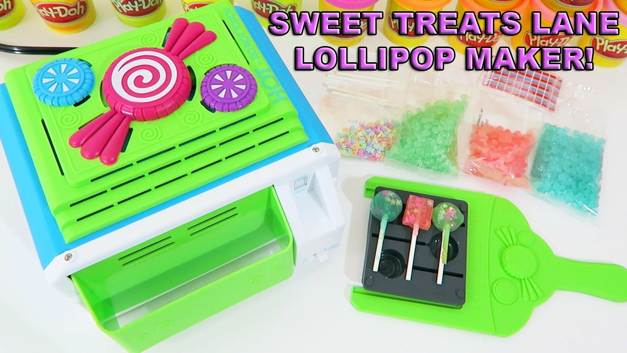 Sweet Treats Lane Lollipop Maker | Easy DIY Make & Share Candy With Your...
