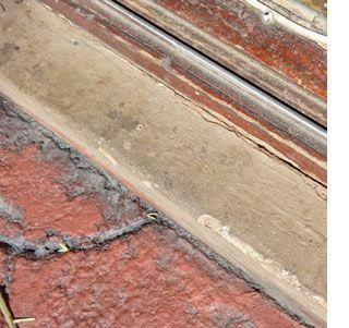 Home Dzine Rust Oleum Leak Seal Seals Around Wood Windows And