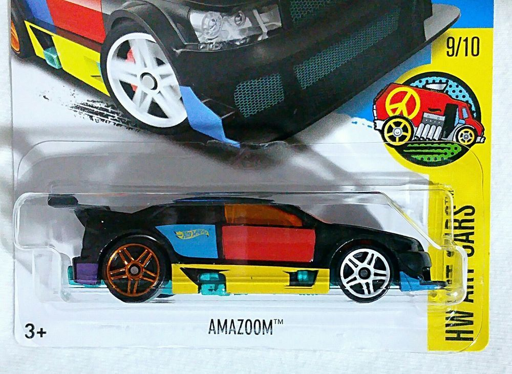Hot Wheels Amazoom #218 HW Art Cars 9/10 Combined Shipping See Notes ...