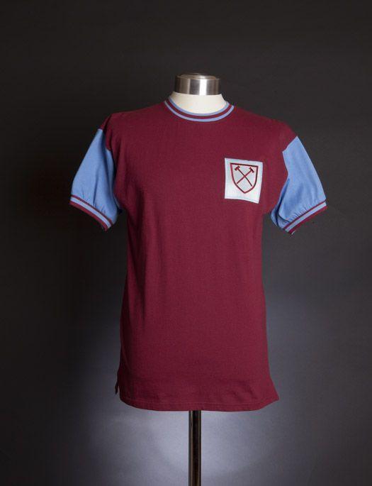 64f08e028ba West Ham United 1966 shirt | West Ham United | West ham united fc ...