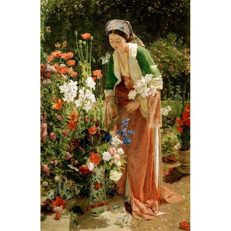 Lewis - In the Bey's garden art puzzle