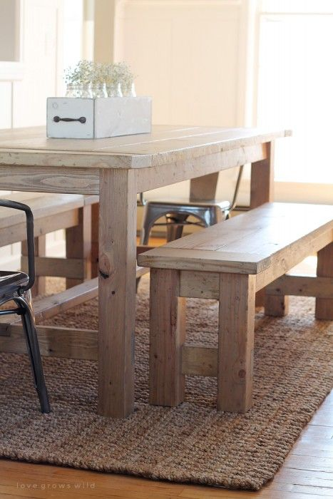 Fine Diy Farmhouse Bench Home Projects Farmhouse Bench Gmtry Best Dining Table And Chair Ideas Images Gmtryco