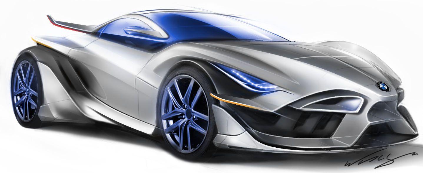 Bmw Supercar Concept Automovil Conceptual Autos Transporte Del