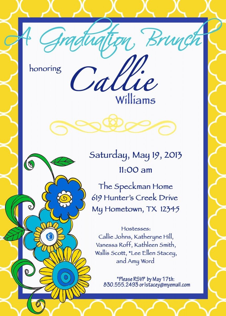 bridal luncheon invitation templates graduation luncheon bridal luncheon invitation templates graduation luncheon invitations templates