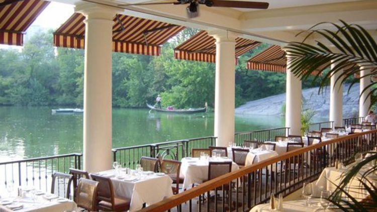 Central Park Boathouse Restaurant New York City Vacation Travel Trip