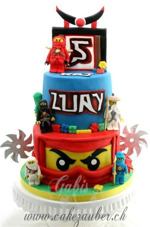 Pleasant Ninjago Cake Birthday Cake For A Boy Taart Lego Ninjago Lego Funny Birthday Cards Online Inifofree Goldxyz