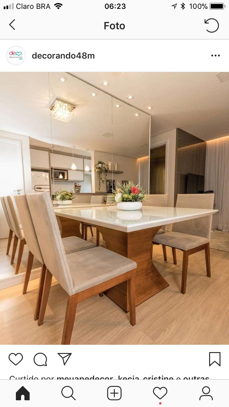 Home interior design dining room pin by alessandra serafim on casa  pinterest  interior design