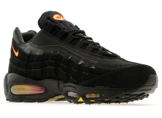 efdefa1fc0 Nike Air Max 95 - Black - Yellow - Red - SneakerNews.com