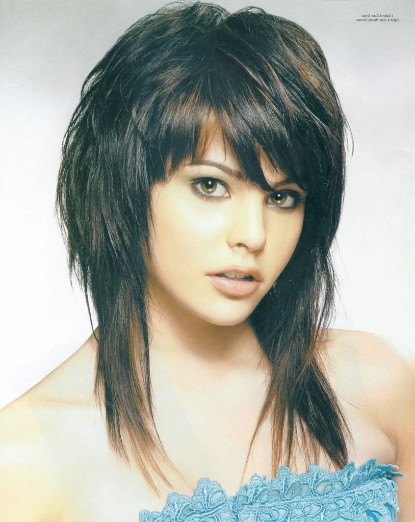 Medium Punk Hairstyles Medium Length Haircut And Hairstyles Ideas Free Gallery Long Shag Hairstyles Medium Hair Styles Haircuts For Fine Hair