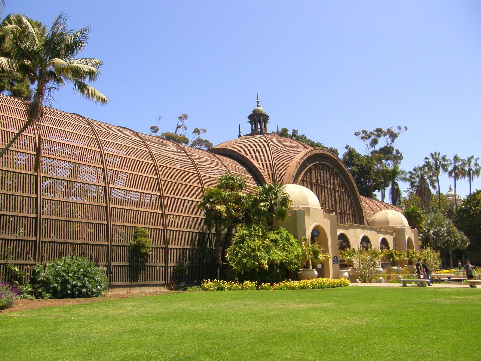 Domed Lath House