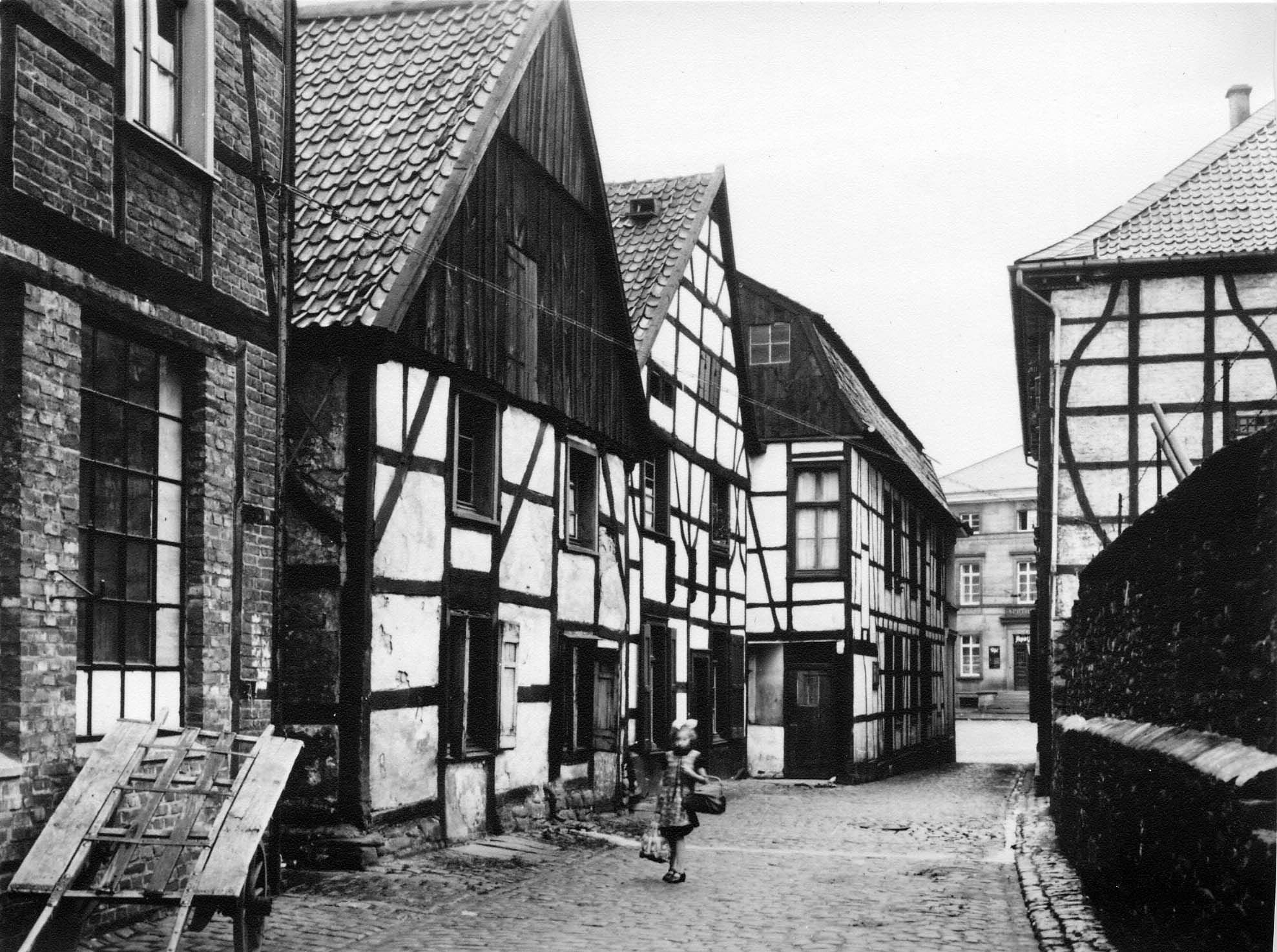 Marktgasse, Herdecke, Westfalen, 30er Jahre (mit Bildern