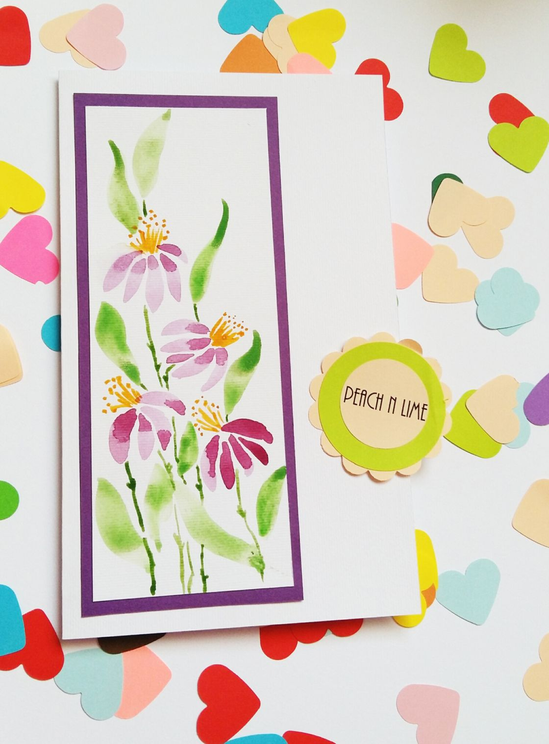 Watercolor Greeting Cards 2 Cards