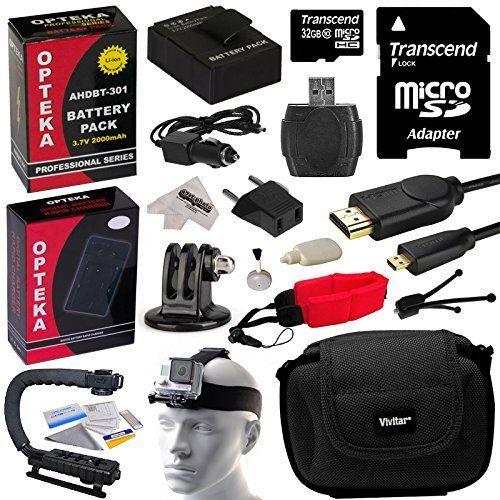 #TagsForLikes #hot Whats in the box:- (2) #Opteka AHDBT-301 2000mAh 3.7V Ultra High Capacity Li-ion Battery PackExtended use - 80% more then original.- Opteka MB...