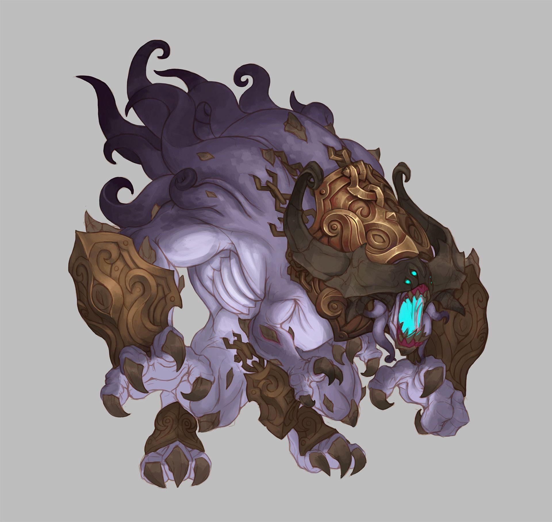 ArtStation - Monsters - Torchlight 2, Kyle Cornelius