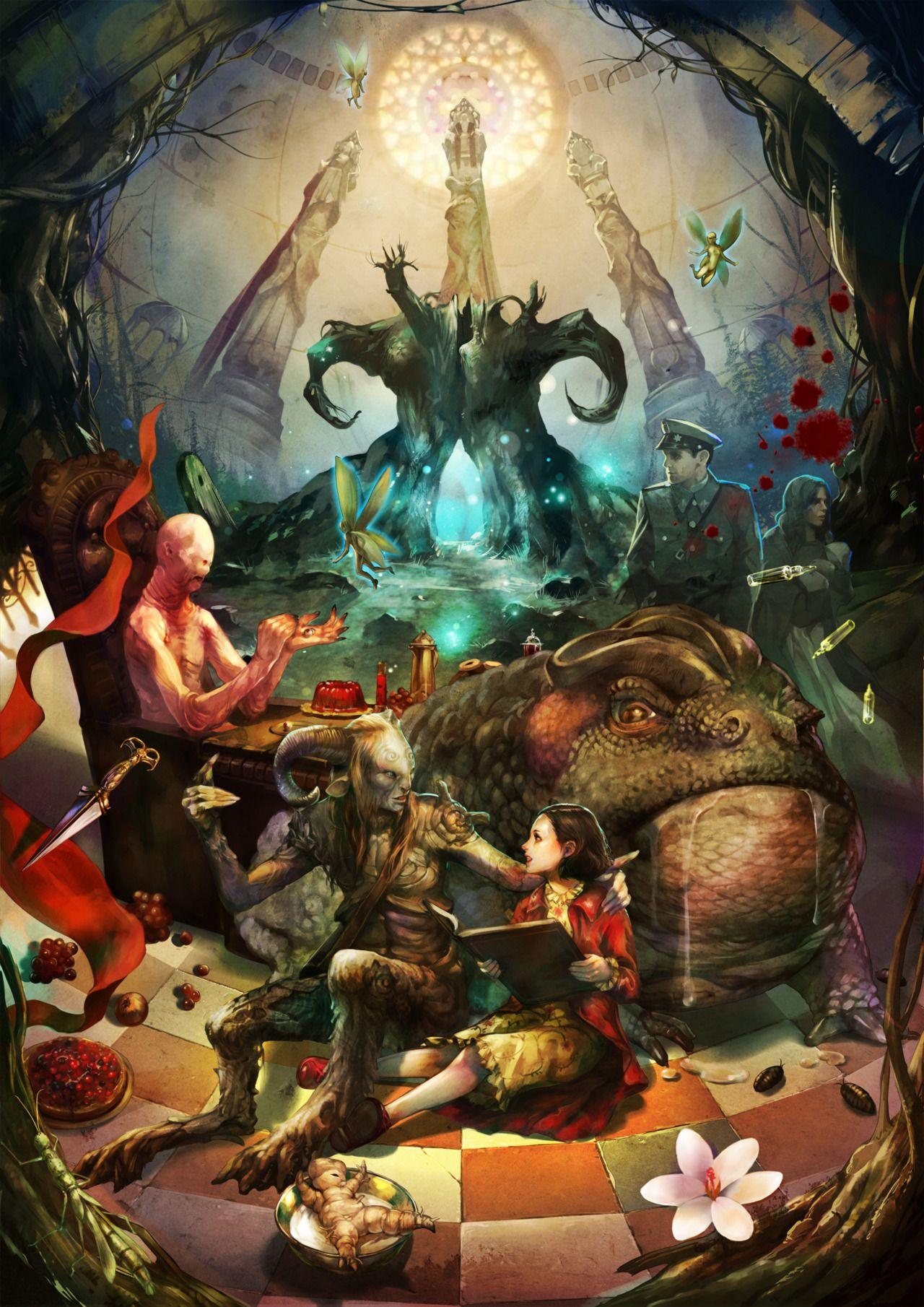 S E Pan S Labyrinth Ilustraciones Produccion Artistica Laberintos