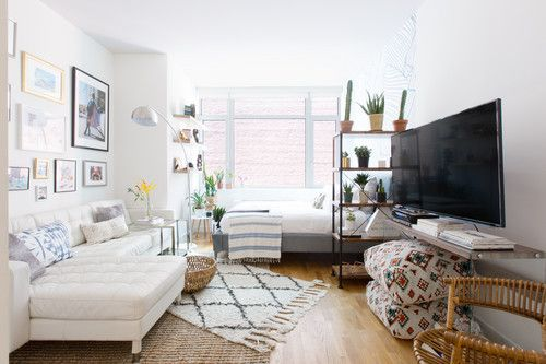 This Nyc Apartment Is All About The Art Studio Apartment