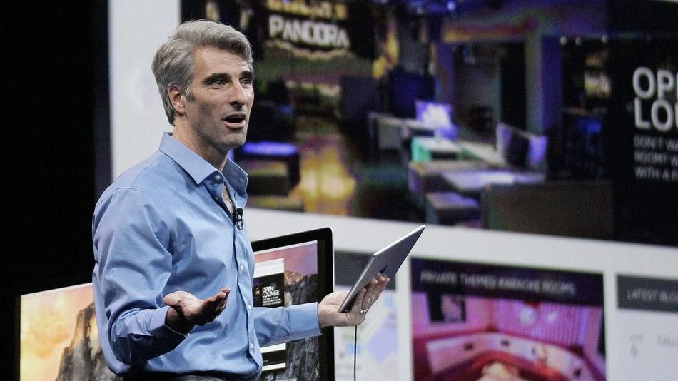 Craig Federighi and Apple want to make coding cool