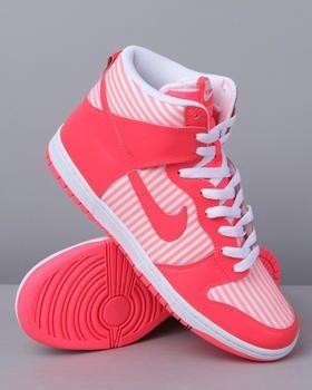 pink high tops nike