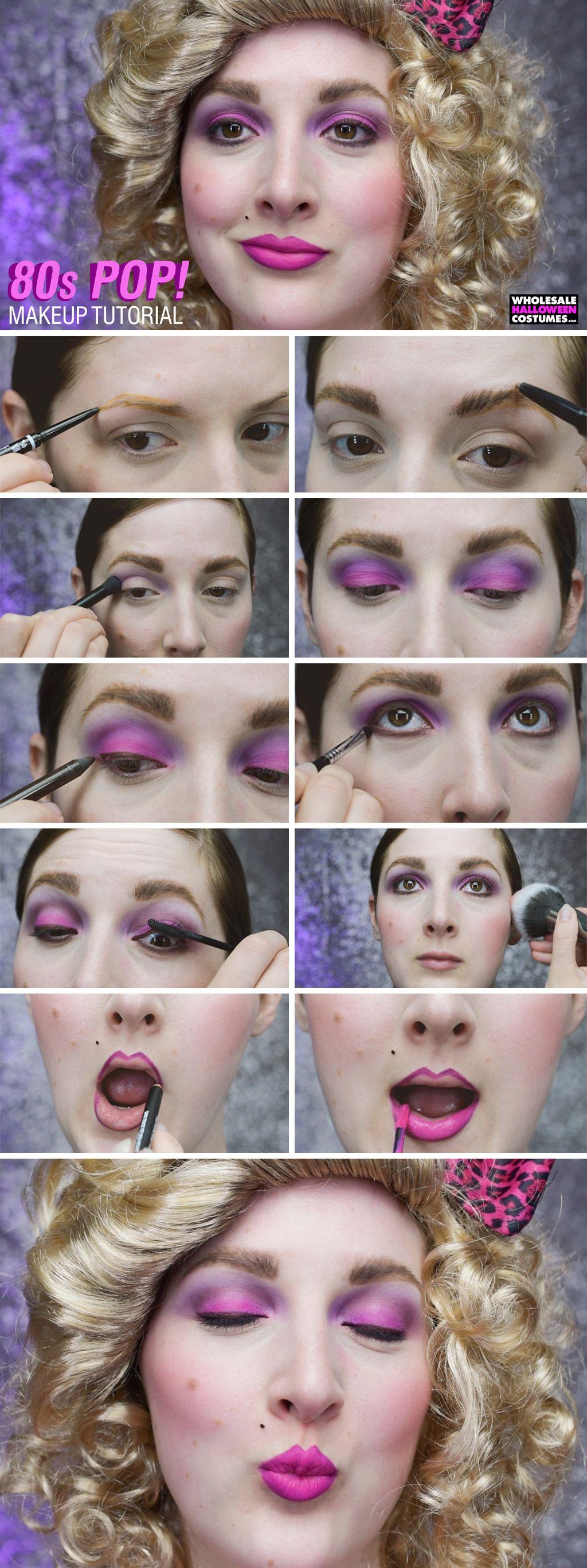 The Finishing Touch 80 S Makeup 80s Makeup Makeup 80s Makeup Tutorial
