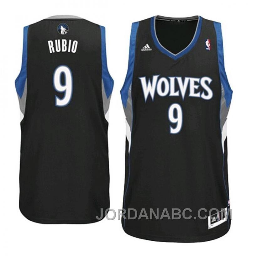 ... NBA Minnesota Timberwolves 9 Ricky Rubio Throwback Soul Swingman Black Jersey  Shorts Suit httpwww.jordanabc.comricky-rubio-minnesota-timberwolves-9 . 6a94f9140